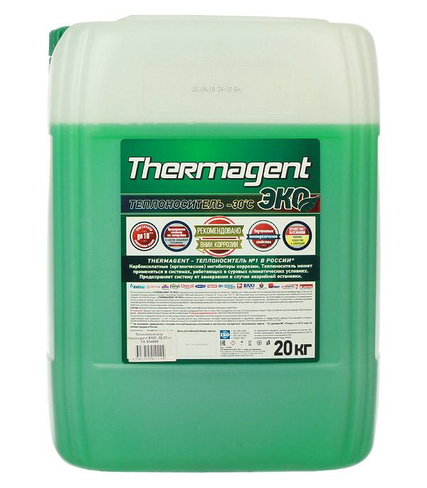 Теплоноситель Thermagent Eko -30°С 20 кг, ЭКО 19,2 л теплоноситель обнинскоргсинтез для систем отопления thermagent технология уюта 65 10кг