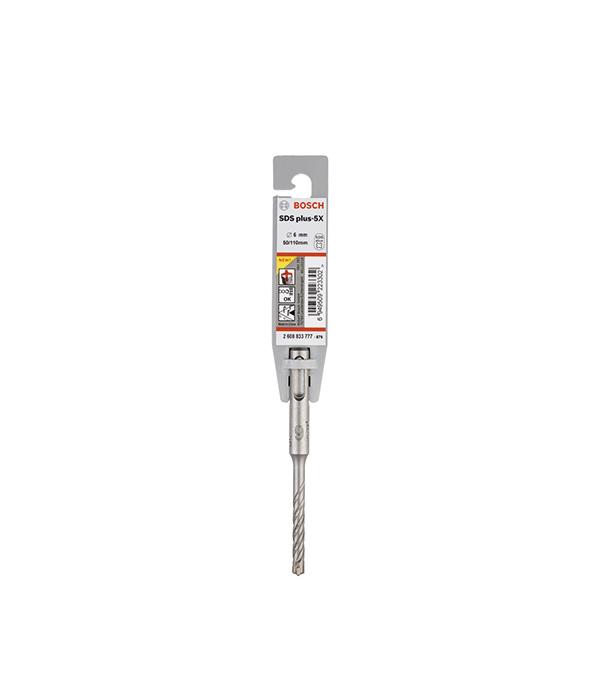 Бур SDS-plus 5X Bosch 6x50x110мм стоимость