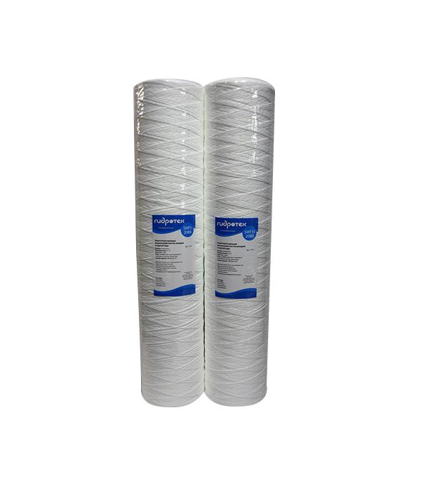 Картридж фильтра для горячей и холодной воды Гидротек SWF 5-20BB нитяной фильтр механической очистки euros для горячей воды 100 мкм