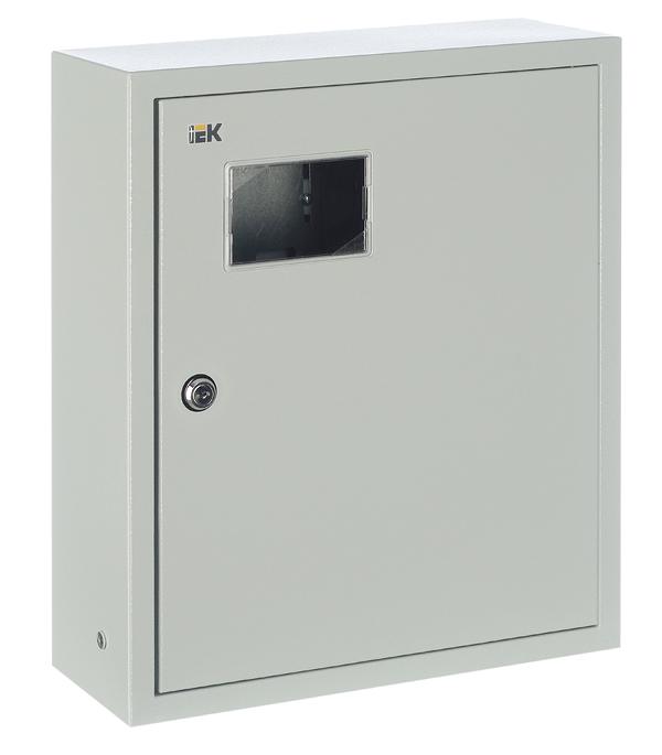 Щиток навесной IEK ЩУРн для 15 модулей и под 1ф счетчик металлический IP31