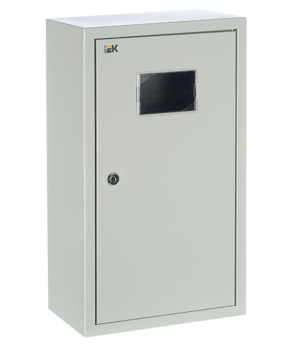 Щиток навесной IEK ЩУРн для 12 модулей и под 3ф счетчик металлический IP31