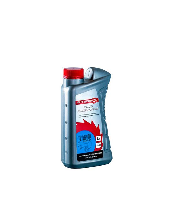 Масло Интерскол (2600010) 1 л для компрессоров