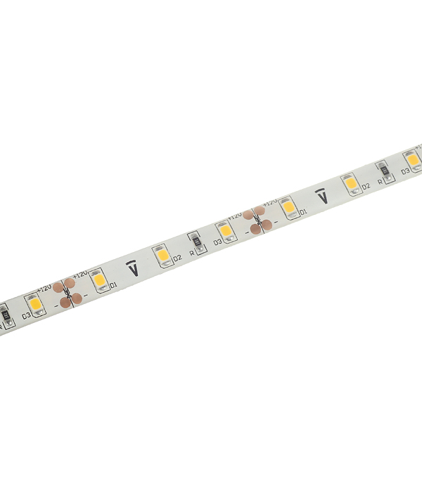 Лента светодиодная SMD 3528 Navigator 3000 К теплый свет 4,8 Вт 12 В IP65 5 м влагозащищенная фото