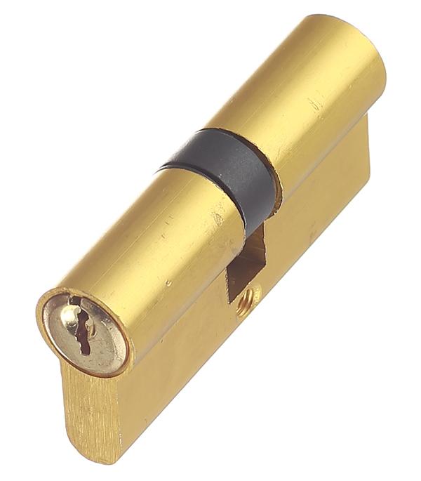 Цилиндр ФЗ E AL 70 PB 70 (35х35) мм ключ/ключ латунь