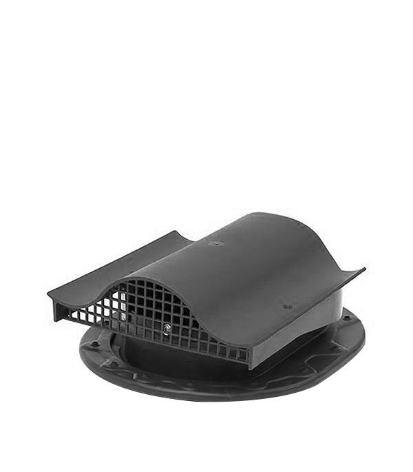 Аэратор Поливент-КТВ-вентиль для готовой кровли из гибкой черепицы серый стоимость