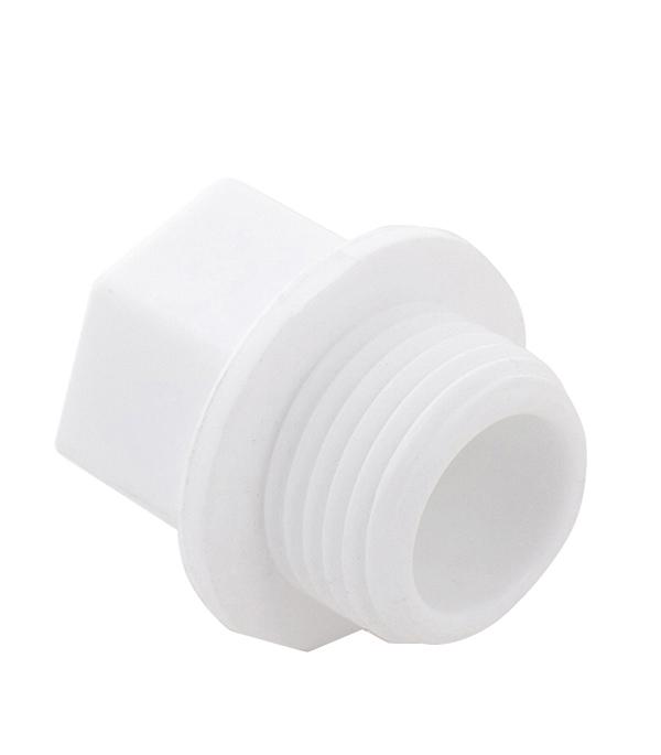 Заглушка полипропиленовая 1 НР(ш)