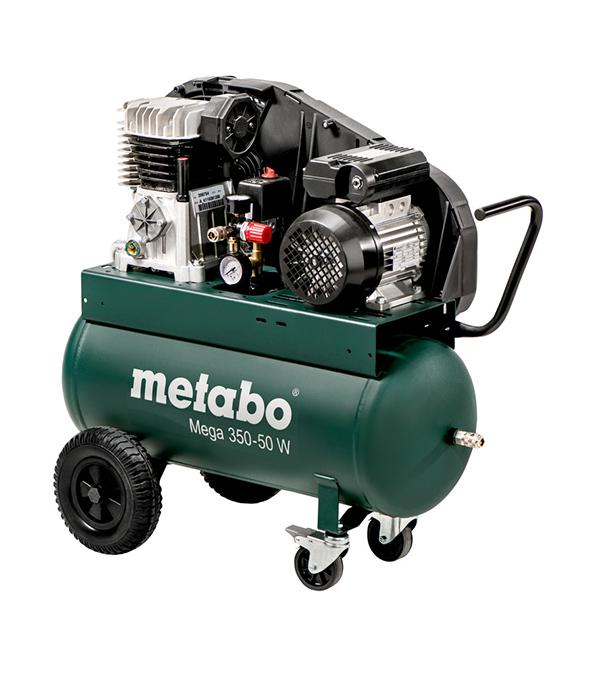 Компрессор масляный Metabo (601589000) MEGA 350-50 W 50 л 2,2 кВт