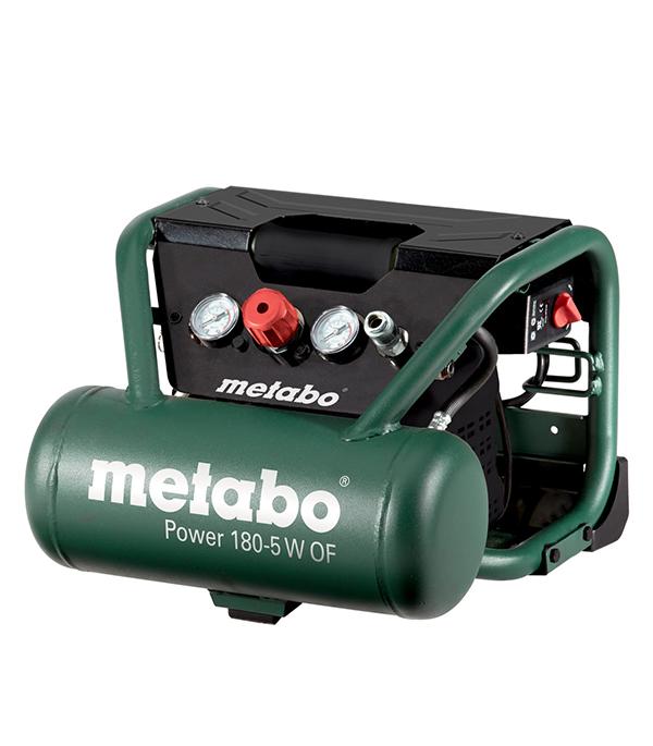 Компрессор безмасляный Metabo (601531000) Power 180-5 W OF 5 л 1,1 кВт