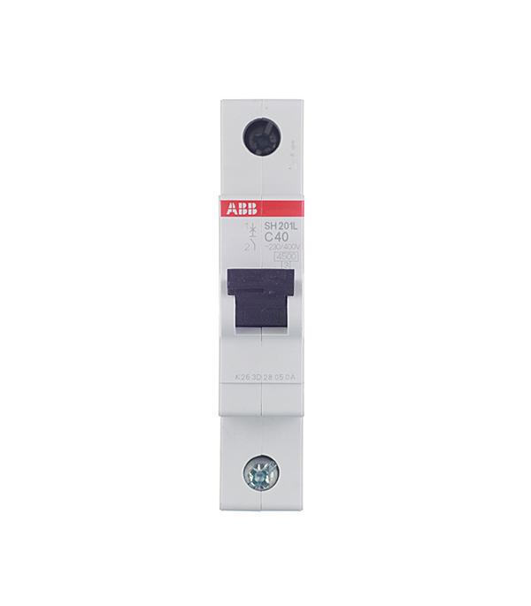 Автомат ABB SH201L (2CDS241001R0504) 1P 50 А тип C 4,5 кА 230 В на DIN-рейку автомат legrand rx3 419669 1p 50 а тип c 4 5 ка 230 в на din рейку