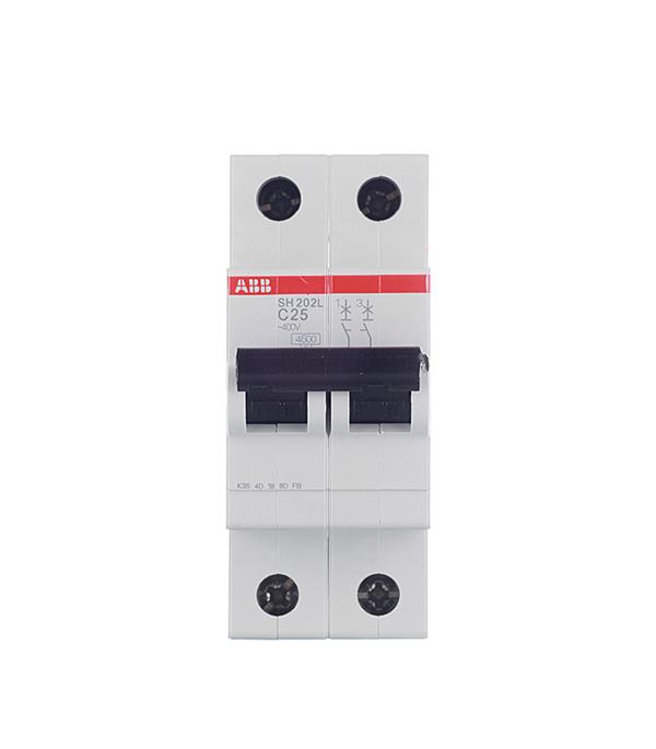 Автомат ABB SH202L (2CDS242001R0504) 2P 50 А тип C 4,5 кА 400 В на DIN-рейку