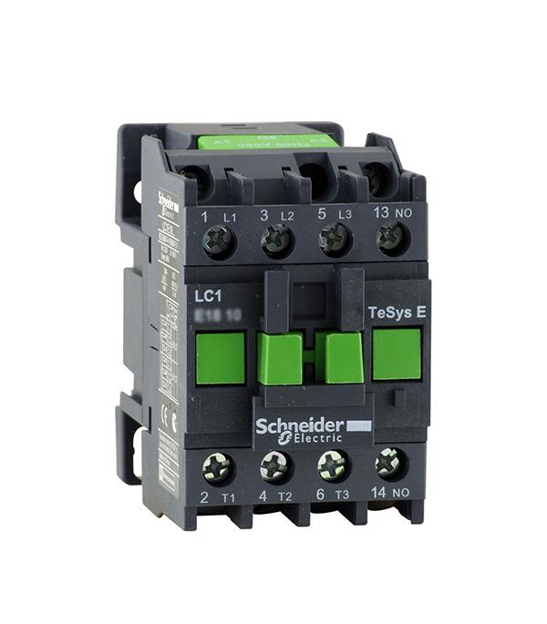Контактор модульный Schneider Electric EasyPact TVS (LC1E1210M5) 220 В 12 А тип AC 3P винтовые зажимы