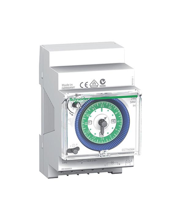 Реле времени модульное Schneider Electric Acti 9 IH (CCT15365) 250 В 16 А тип AC 1P+N безвинтовые зажимы фото