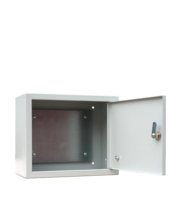 цена на Щит распределительный навесной RUCELF ЩМП-02 металлический IP31 250х300х155 мм с монтажной панелью