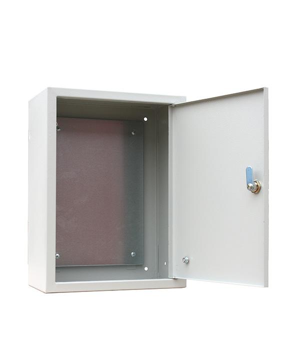 цена на Щит распределительный навесной RUCELF ЩМП-04-2 металлический IP31 400х300х220 мм с монтажной панелью