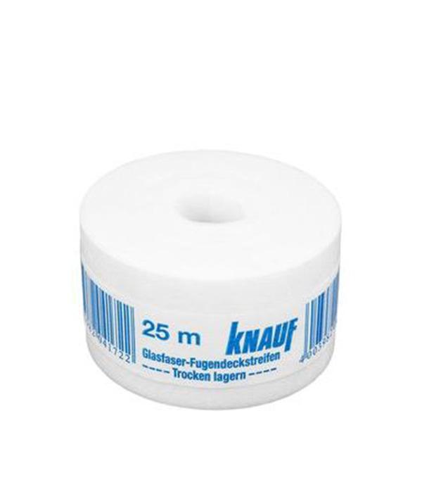 цена на Лента стекловолокнистая Knauf для стыков огнезащитных плит 50 мм х 25 м