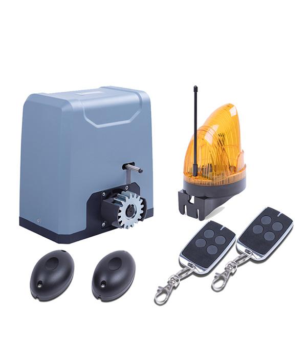 Комплект автоматики для откатных ворот весом до 1000 кг SL1000KIT привод для откатных ворот somfy freevia 600 комплект