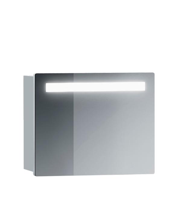 Зеркальный шкаф BELUX Марсель 600 мм с подсветкой белый belux шкаф пенал belux бриз 30 белый l