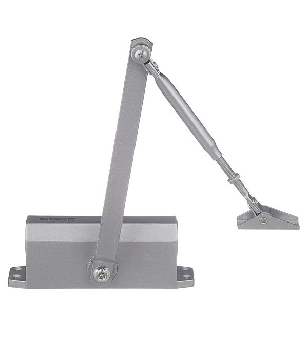 Доводчик дверной ФЗ (до 60 кг) серебро