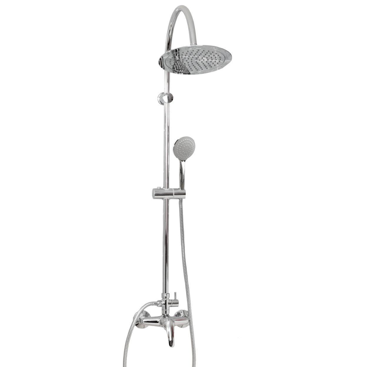 Душевая система  Istok Life luxe 19064 с верхним душем и ручной лейкой со смесителем комплектующие
