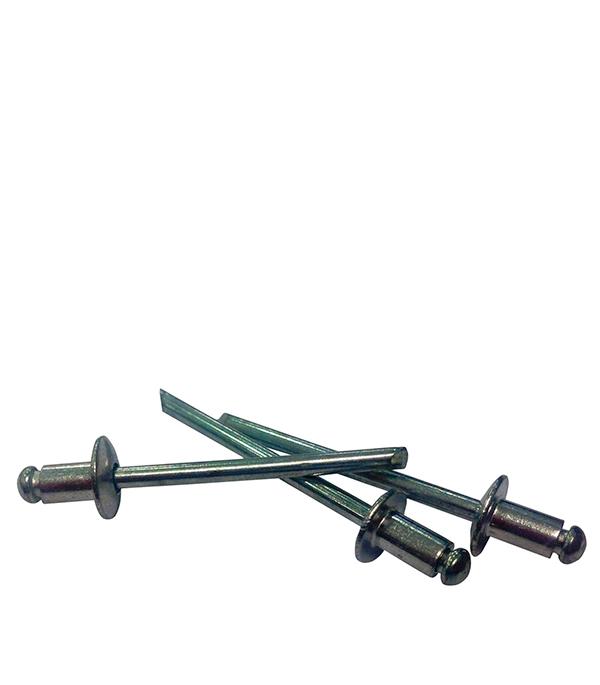 Заклепка вытяжная 3.2x12 мм алюминий/сталь (100 шт.) капсулы для монет leuchtturm caps диаметр 20 мм 10 шт
