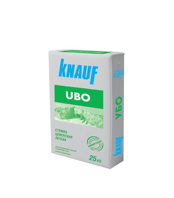 Ровнитель (стяжка пола) первичный Knauf Убо 25 кг фото