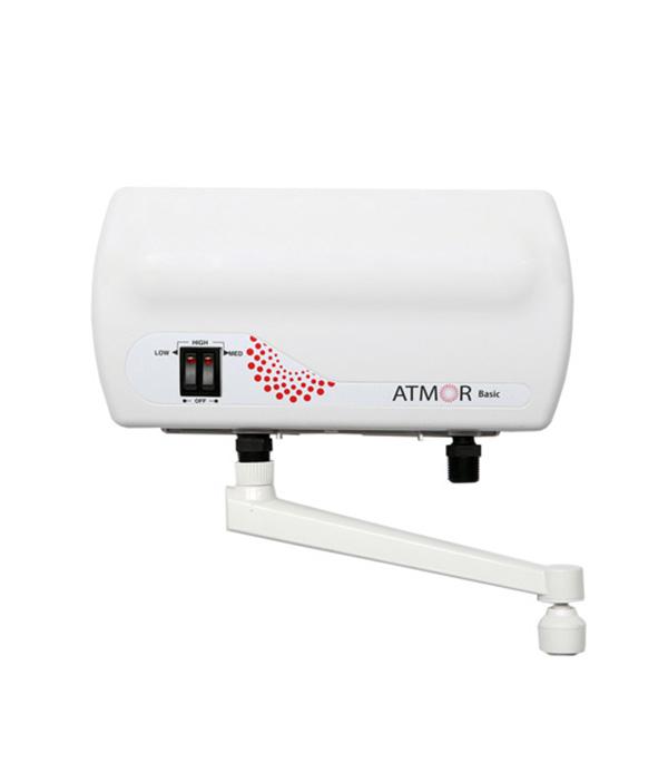 Водонагреватель проточный Atmor Basic Tap электрический 5 кВт горизонтальный