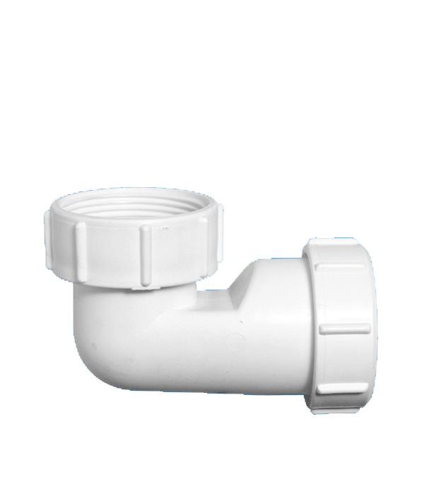 Отвод McAlpine 90° 40 мм низкий компрессионный с накидной гайкой цена