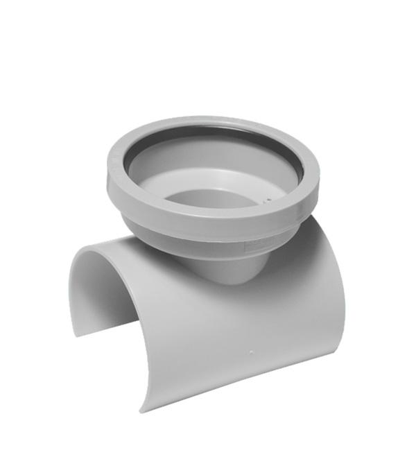 Переходник-врезка McAlpine d110х110 мм пластиковый горизонтальная для внутренней канализации