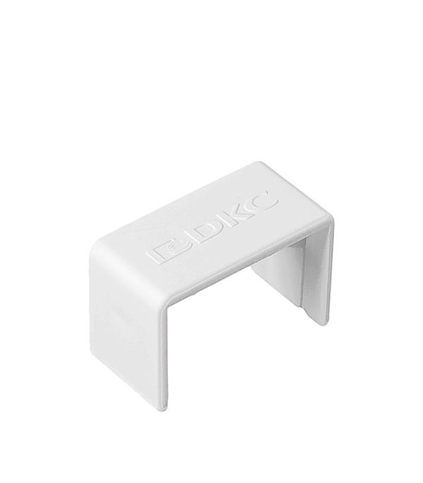 цена на Соединение на стык кабель-канала ДКС 25х17 мм белое