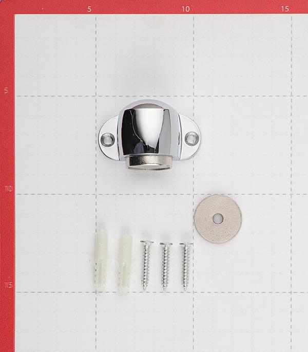 Упор дверной магнитный Palladium Стопор 02 - М CP (хром)