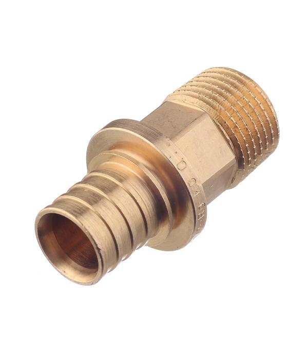 Соединитель прямой RX Rehau (14563141001) 20 мм х 1/2 НР(ш)