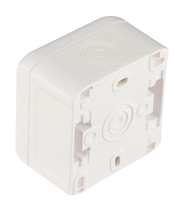 Выключатель Legrand Quteo 782300 одноклавишный открытая установка белый IP44 влагозащищенный фото