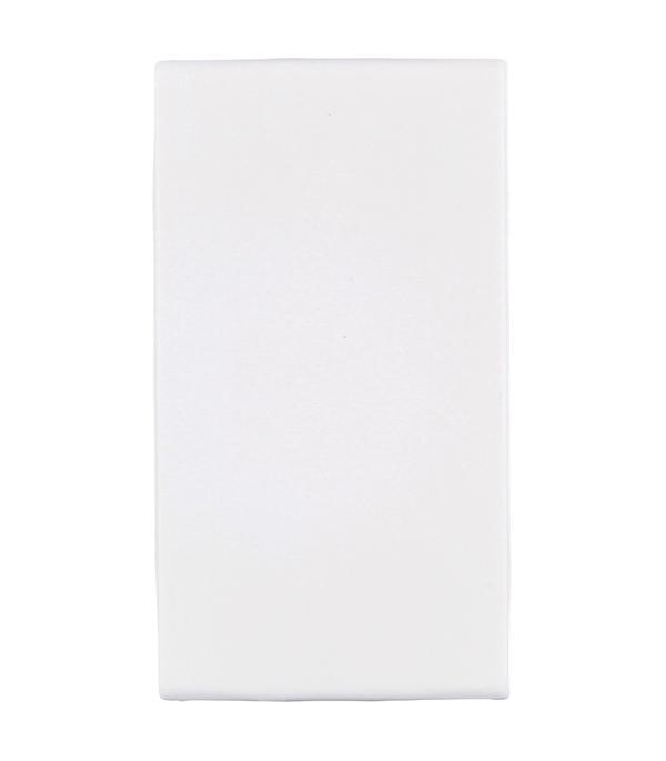 Заглушка Viva для кабель-канала ДКС 1 модуль белая дкс dkc viva бел выключатель однополюсный 2мод 45021