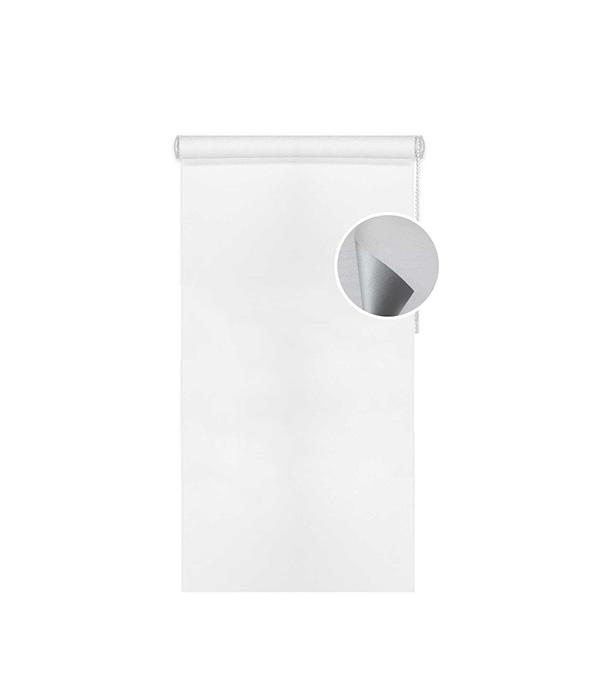Штора рулонная 100х170 см серый отражающий Blackout