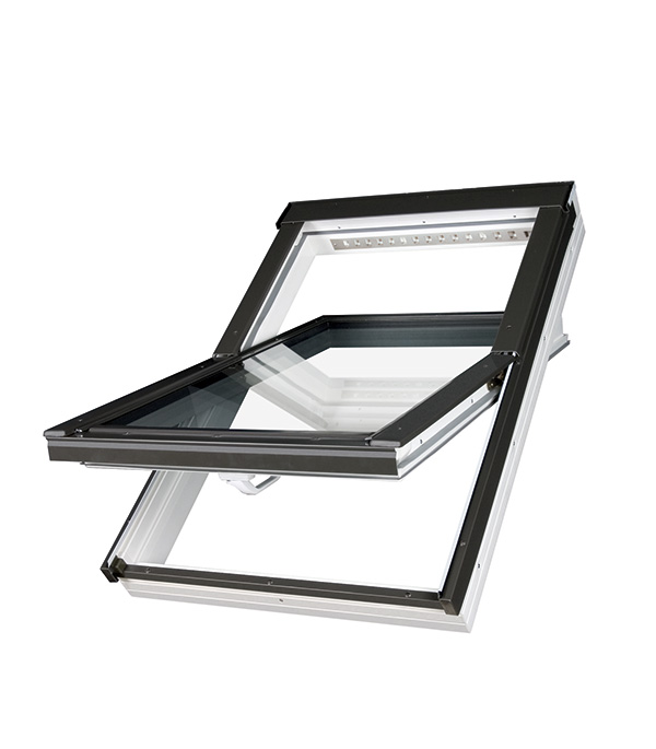 Окно мансардное Fakro PTP-V U3 ПВХ 550х780 мм фото