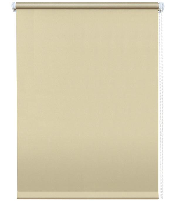 Штора рулонная Плайн 140х175 см кремовый комплект штор параскева шоколад 200х270 2шт подхват 2шт шоколадный кремовый