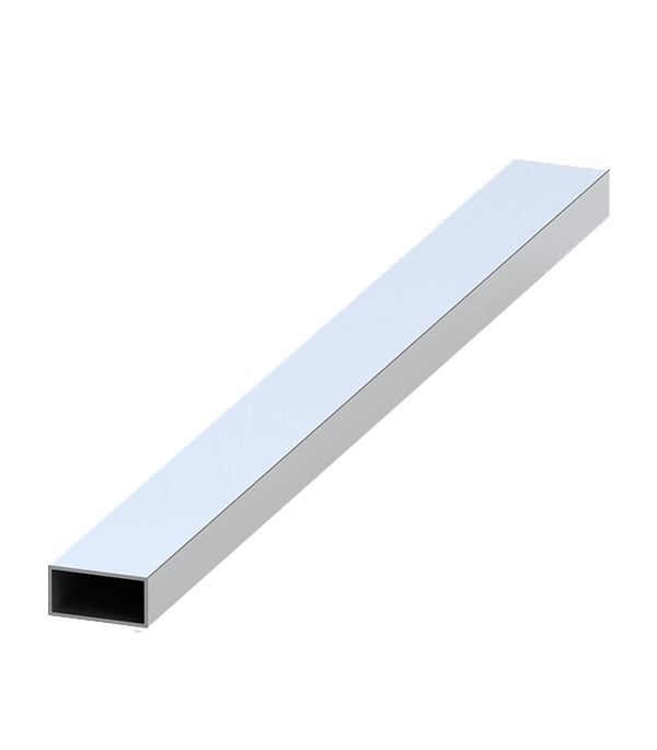 Трубка прямоугольная алюминиевая 40х20х1,5х2000 мм