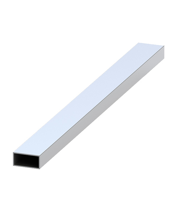 Трубка алюминиевая прямоугольная 60х25х2х1000 мм