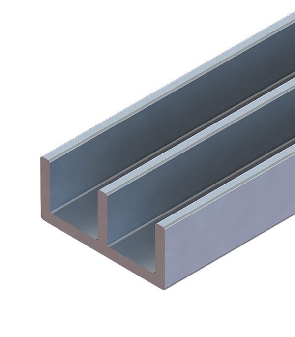 3e995695b36ea Профиль Ш-образный алюминиевый 265х1000 мм серебро — купить в ...