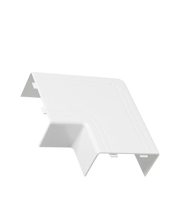 Плоский угол для кабель-канала ДКС 80х40 мм белый цена и фото