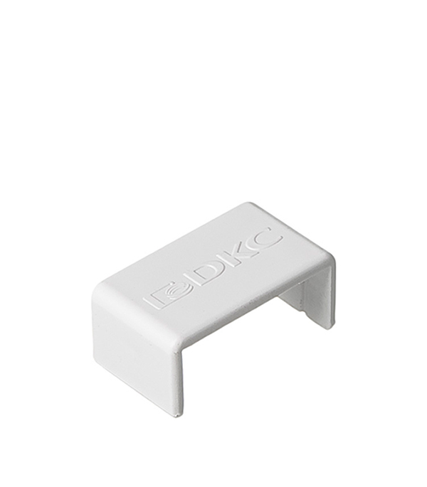 Соединение на стык кабель-канала ДКС 22х10 мм белое кабель