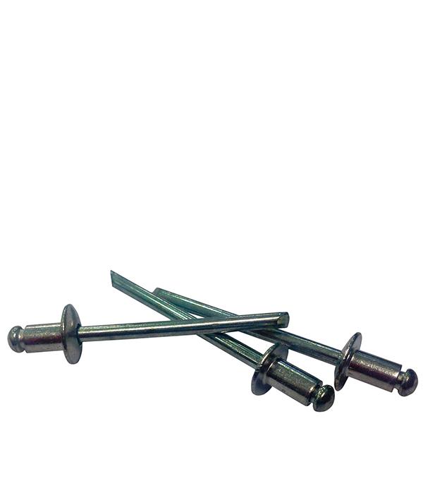 Заклепка вытяжная 4.0x8 мм алюминий/сталь (100 шт.) капсулы для монет leuchtturm caps диаметр 20 мм 10 шт