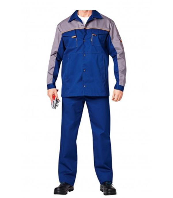 Фото - Костюм рабочий Спец-1 48-50 рост 182-188 см цвет темно-синий/серый брюки мужские oodji lab цвет темно синий 2l100082m 44215n 7900n размер 42 182 50 182
