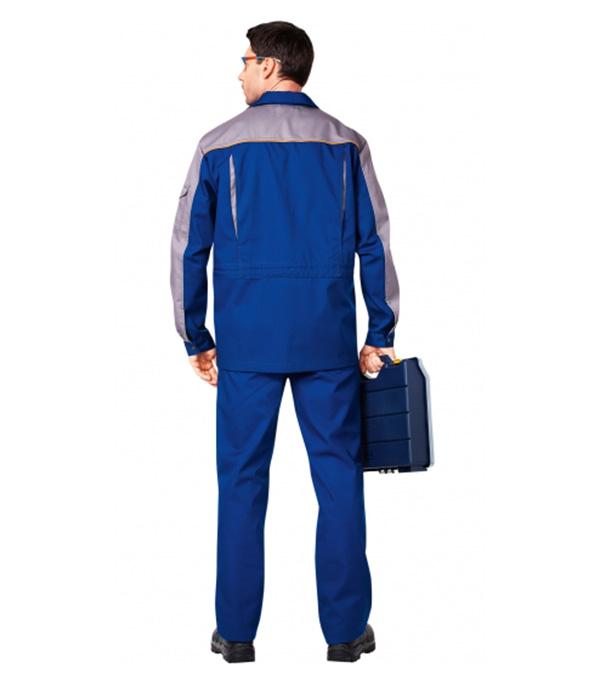 Костюм рабочий Спец-1 48-50 рост 170-176 см цвет темно-синий/серый фото