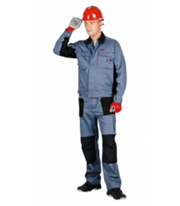 Куртка рабочая Спец-Авангард 52-54 рост 182-188 см цвет серый/черный цена 2017