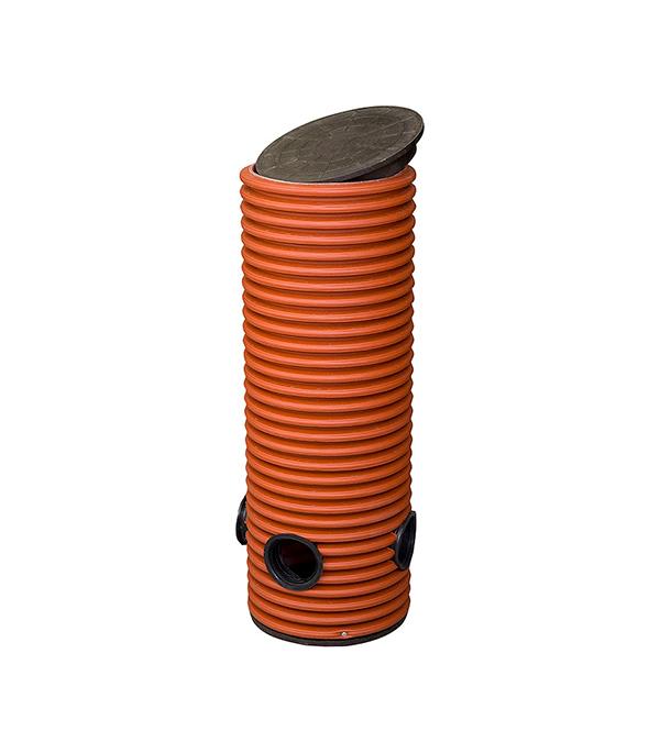 Колодец дренажный смотровой 368/315х1000 мм с тремя