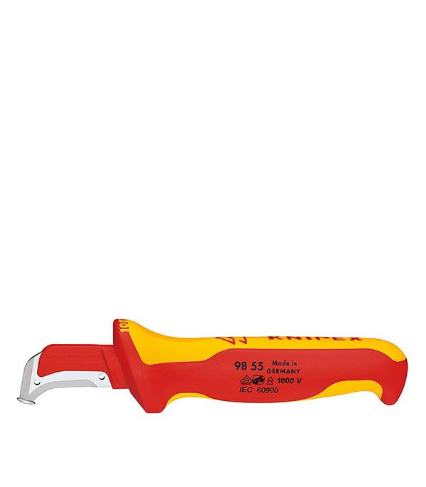 Нож Knipex (KN-9855SB) для удаления изоляции 180 мм