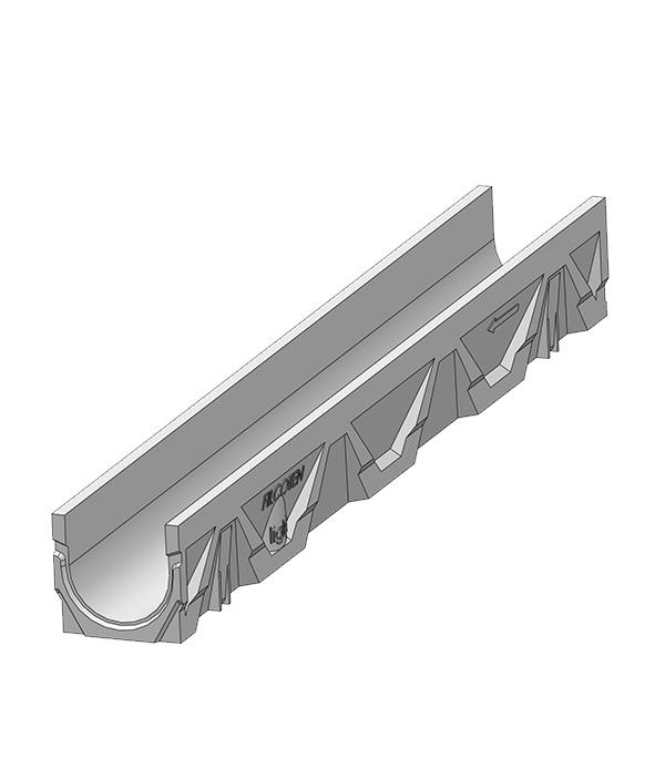 Лоток водоотводный Filcoten (10311000) 1000х126х115 мм композитбетонный С250