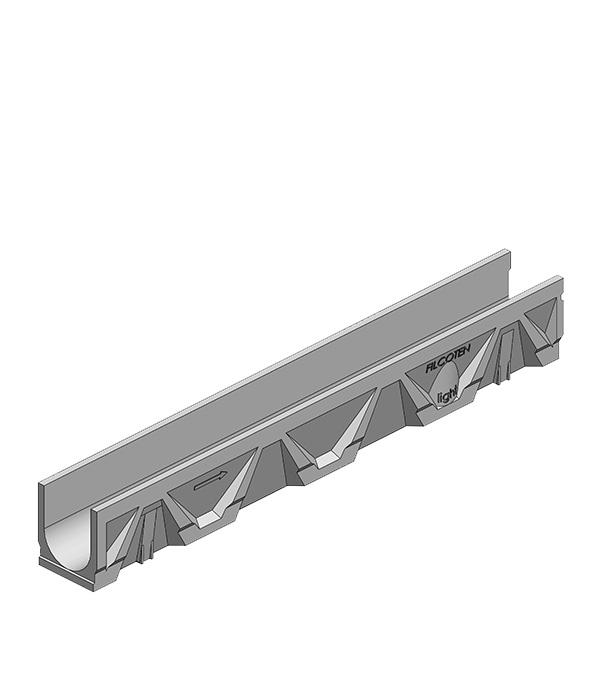 Лоток водоотводный Filcoten (10311061) 1000х126х140 мм композитбетонный С250