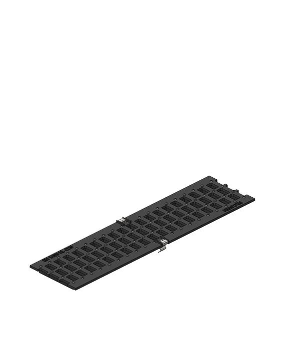 Решетка чугунная Filcoten DN100 500х124х5 мм С250 с пружинным крепежом стоимость